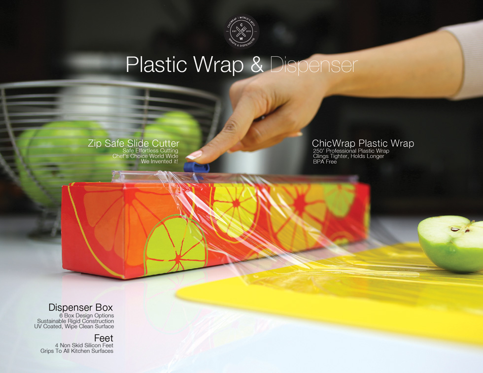 What you get in plastic wrap